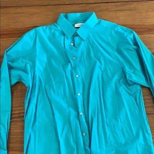 Calvin Klein men's dress shirt 16.5 34/35